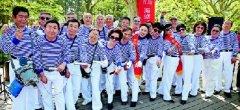 青岛海蛎子口琴队:年龄跨度从57岁一直到87岁